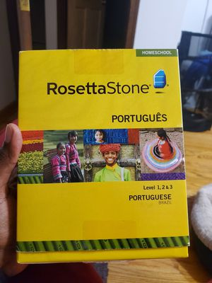 Portuguese Rosetta Stone, Level 1-3 for Sale in Oak Lawn, IL
