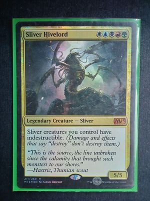 *Foil* Sliver Hivelord -M15- for Sale in Vashon, WA