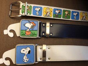 Vintage Rare Snoopy Belts for Sale in Centreville, VA