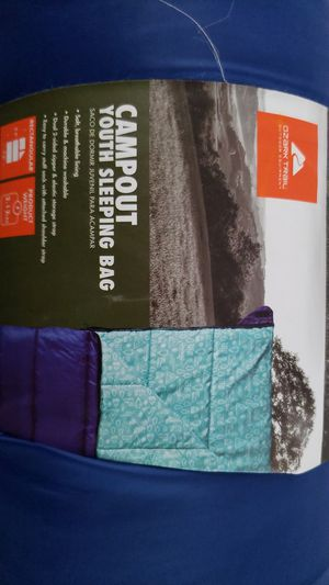 Ozark trail campout youth sleeping bag for Sale in Dunlap, IL