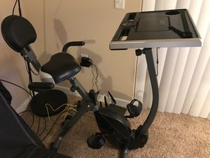 Wirk exercise bike workstation/ standing desk for Sale in Verona, WI