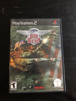 Seek and Destroy PS2 game for Sale in Salisbury, NC