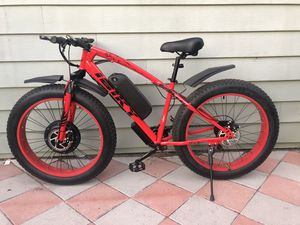 New FAST custom eBike, 1500w motor 48v lithium battery electric bicycle cruiser mountain bike downhill for Sale in Santa Ana, CA