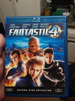 Fantastic Four Blu-ray movie for Sale in Santa Ana, CA
