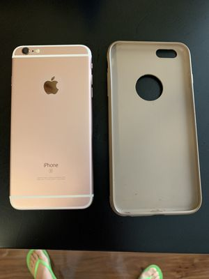 iPhone 6s 64gb unlocked with Cover was $55pick up only for Sale in Denver, CO