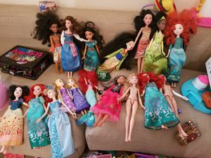 Disney dolls and misc toys.. for Sale in Hayward, CA
