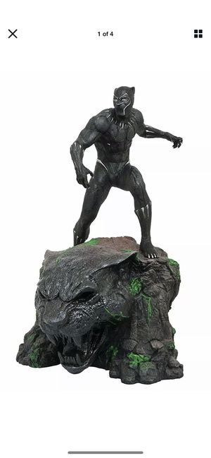 MARVEL MILESTONES BLACK PANTHER MOVIE STATUE / NEW IN BOX / DIAMOND SELECT for Sale in Surprise, AZ