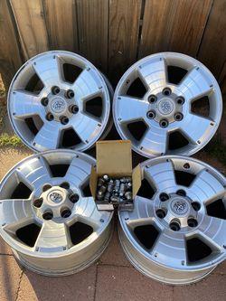2010 Toyota Tacoma Truck Wheels Rims 17 Inch for Sale in Glendora,  CA