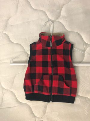 Red sweater vest. Size 9mos. for Sale in Las Vegas, NV