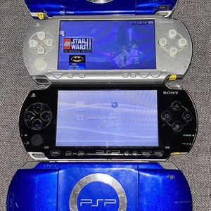 hacked/modded japanese 🇯🇵 import PLAYSTATION PORTABLE 1000 ORIGINAL PHAT SERIES 😈😈😈😈😈😈 100 psp games and every game boy color games for Sale in San Marino, CA