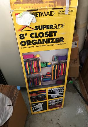 8' closet organizer for Sale in Vallejo, CA