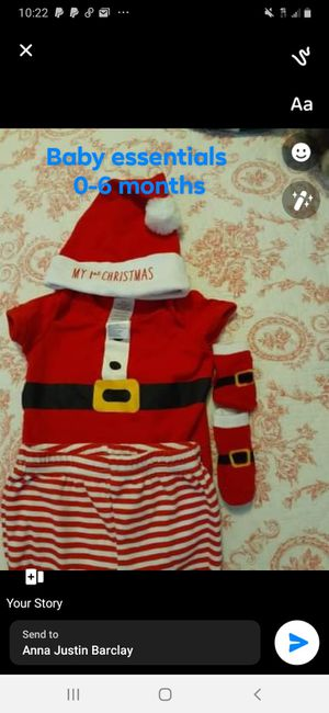 1st Christmas outfit for boy for Sale in Wenatchee, WA