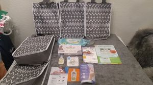 5 NEWBORN BABY SAMPLE BAGS DIAPERS, WIPES, PACIFIER,LOTION,BREAST PADS & MORE $4 A BAG OR ALL 5 FOR ‼️**$15 FIRM**(THATS $3 EACH)‼️ for Sale in Phoenix, AZ