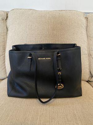 Michael Kors Black Tote Bag for Sale in Roanoke, TX