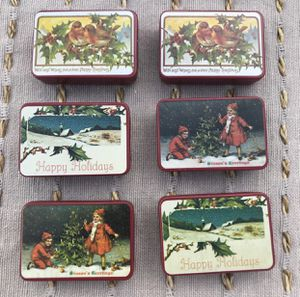 Vintage Christmas mini tins. for Sale in Stafford Township, NJ