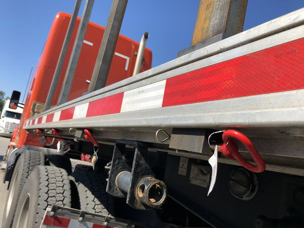 Pipe Stakes w/ drilled safety pin hole for Flatbed Hotshot & Gooseneck Trailer