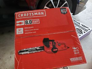 New in box craftsman chainsaw for Sale in Sumner, WA