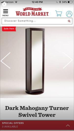 World market Swivel Mirror w/ storage for Sale in Seattle, WA