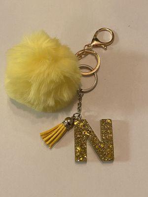 Gold letter N custom keychain for Sale in Wichita, KS