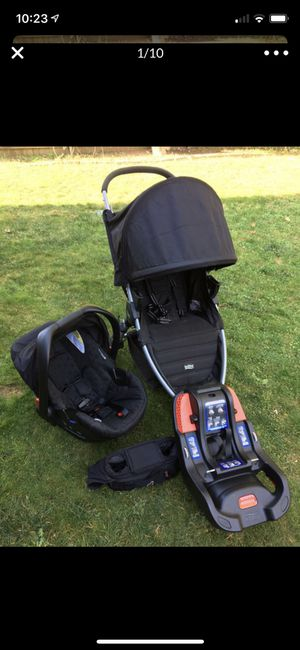 Britax car seat and stroller for Sale in Monroe, WA