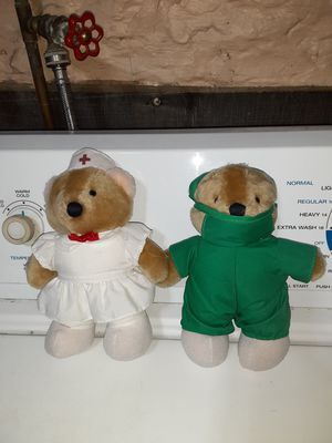 Doctor and nurse bears for Sale in Penn, PA