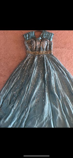 Tea blue dress for Sale in Orland Park, IL