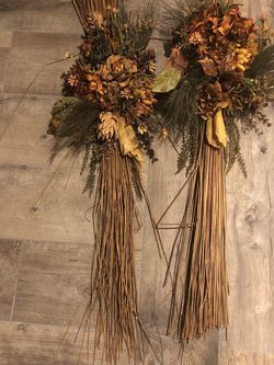 2-FALL DOOR OR TABLE ARRANGEMENTS-CONES HAVE SOLD for Sale in Aurora,  IL