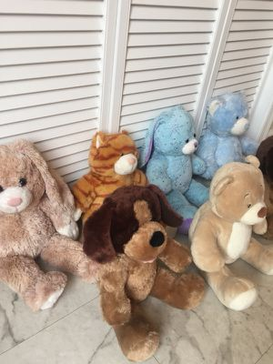 Build A Bear workshop stuffed animals for Sale in Prince Frederick, MD