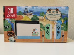 Nintendo Switch Animal Crossing Edition for Sale in Irvine, CA