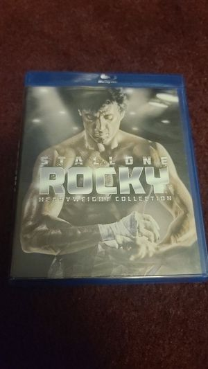 rocky collection blu ray for Sale in Phelan, CA