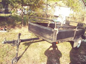 Trailer small size 4 1/2 × 8 feet for Sale in Roman Forest, TX