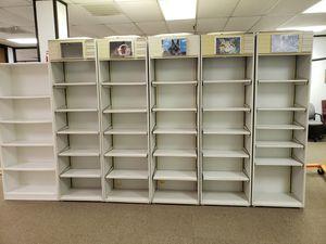 Bookshelves, display shelves, heavy duty for Sale in Houston, TX