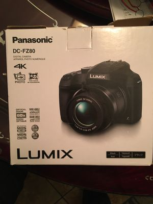 LUMIX 4K Digital Camera for Sale in Lynwood, CA