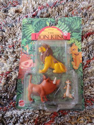 Disney Lion King Simba Timon Pumbaa Collectible Mattel Action Figure Set for Sale in Hawthorne, CA