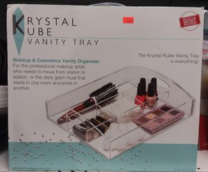 Krystal Kube Vanity Tray @ The Parkway Outlet for Sale in Missouri City, TX