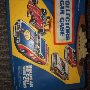 Vintage Toy Cars With Collector Box for Sale in Huntington Beach, CA