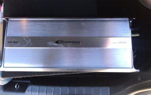"""AUDIOFONICS ADF-2845 20"""" 2CHANNEL 2200W BRIDGEABLE POWER AMPLIFIER for Sale in El Cajon, CA"""