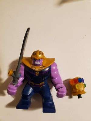 Lego Marvel Super Heroes Avengers Infinity War Thanos W/ Full Infinity Stone Gauntlet 100% Authentic for Sale in Tigard, OR