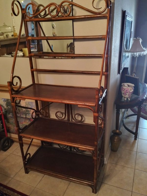 Bakers rack, bambo