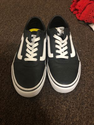 Leather skate vans for Sale in Long Beach, CA