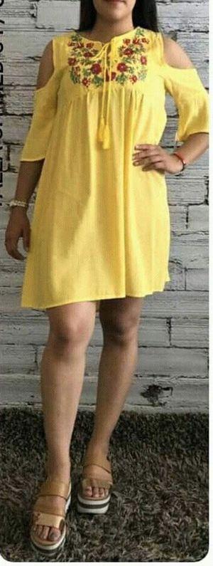 Yellow Embroidered Dress/ Vestido Bordado for Sale in Sugar Hill, GA