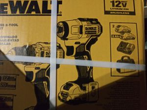 DeWalt Brushless 2- Drill Combo Kit Xtreme Sub-Compact Series New in Box for Sale in Henderson, NV
