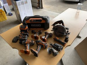 Rigid Power Tool Set for Sale in Portland, OR