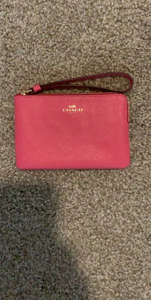 Hot Pink Coach Wallet for Sale in Memphis, TN