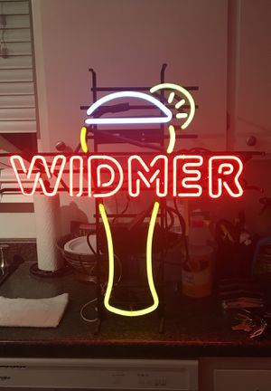 Widmer Neon Beer Sign for Sale in Modesto, CA