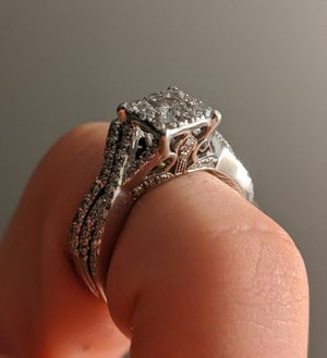 Zales Engagement Ring with Band for Sale in San Diego, CA