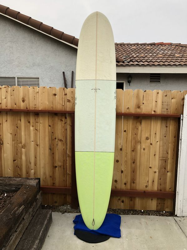 10' Takayama Epoxy Longboard Surfboard