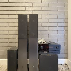 Canton 709 DC sound system with Pioneer receiver for Sale in West Covina, CA