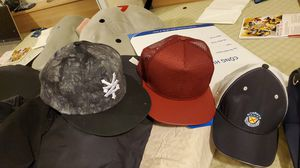 Three men caps - Red, Grey & Blue / white for Sale in Westminster, CA