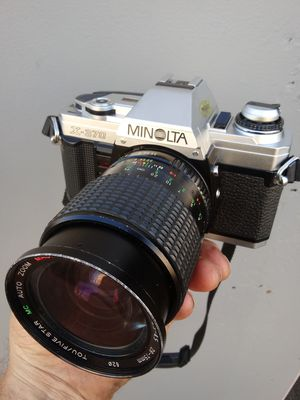 Minolta X-370 TESTED w/28-75mm Zoom/Batteries/Film! for Sale in Chino, CA